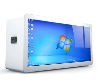 透明展示柜 透明橱窗展柜 透明屏机