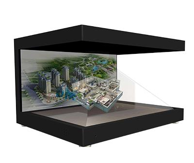 270度3D全息投影展示柜